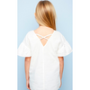 Rebecca Tunic | Embroidered Ruffle Girls or Tweens Tunic - The Boho Sophisticate