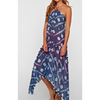 The Megan | Scarf Tie Back Dress or Beach Cover Up - The Boho Sophisticate
