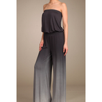 womens ombre wide-legged jumpsuit