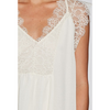 Chiffon and Lace Detail Top with Racerback Camisole