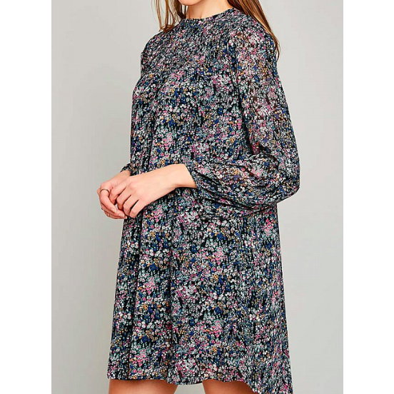 Women's Emma Dress - Floral Babydoll Dress