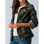 Lightweight Cropped Camo Jacket (S - XL)