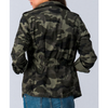 Lightweight Cropped Camo Jacket (S - XL) - The Boho Sophisticate