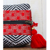 ZzQuilted Stripe Makeup Bag - The Boho Sophisticate