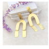 ZzGold Horseshoe Earrings - The Boho Sophisticate
