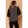 zzCoco Tweed Top - The Boho Sophisticate