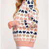 I HEART YOU Heart Sweater - The Boho Sophisticate