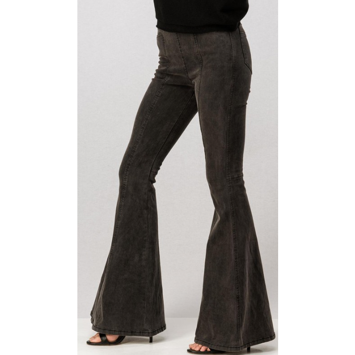 Bell Bottom High Waist Jeans - The Boho Sophisticate