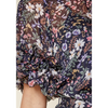 Vida Floral Chiffon Mini Dress - The Boho Sophisticate