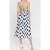 Sunny Navy Polka Dot Sundress - The Boho Sophisticate