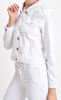SoCal White Denim Jacket - The Boho Sophisticate