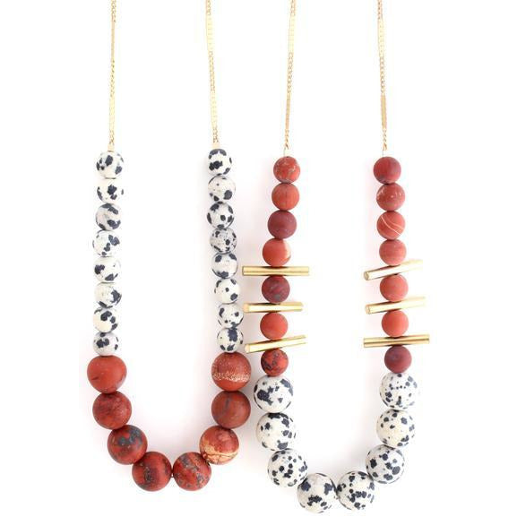 zzAussie Necklace Red - The Boho Sophisticate