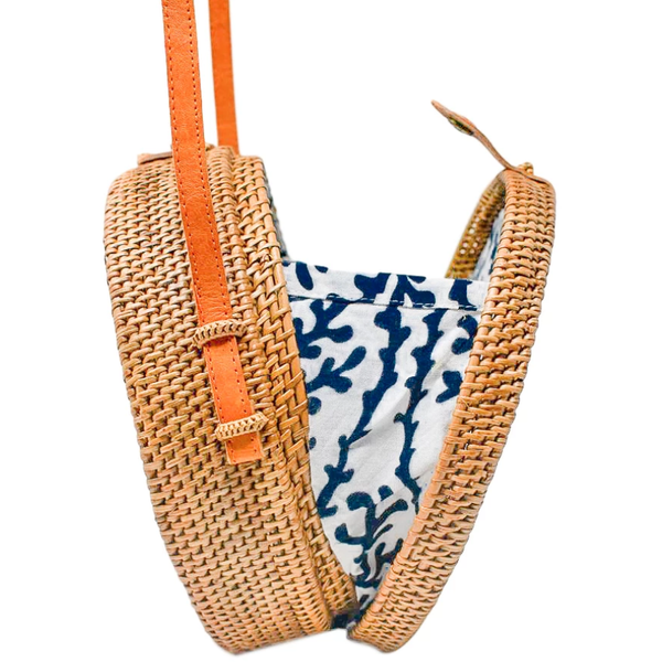 Camilla Bag: Navy Sea Coral