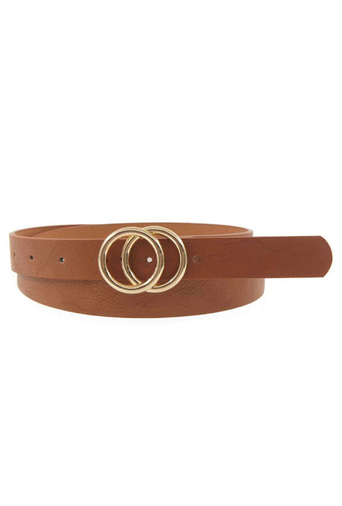 Gold Double Circle Belt - The Boho Sophisticate