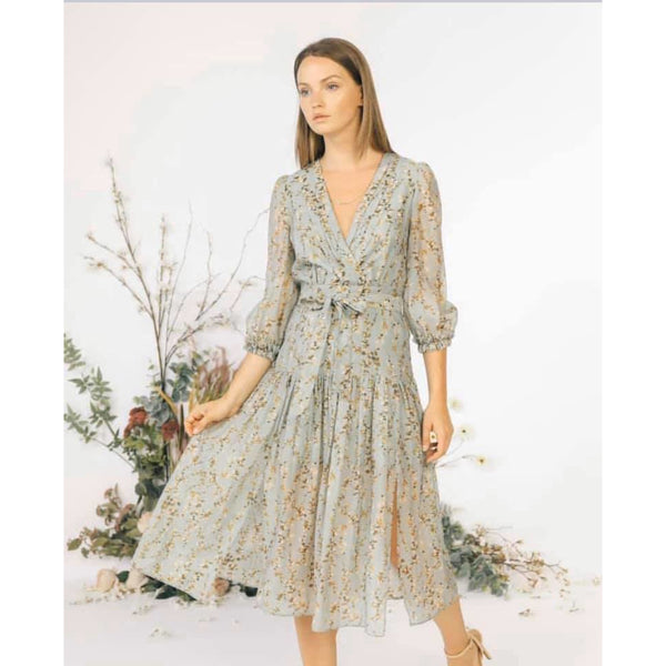 Willow Sage Dress - The Boho Sophisticate