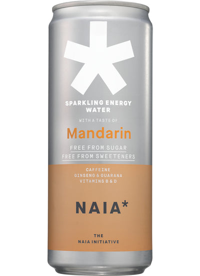 SPARKLING ENERGY WATER MANDARIN - 12 pack