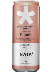 SPARKLING ENERGY DRINK PEACH - 12 pack
