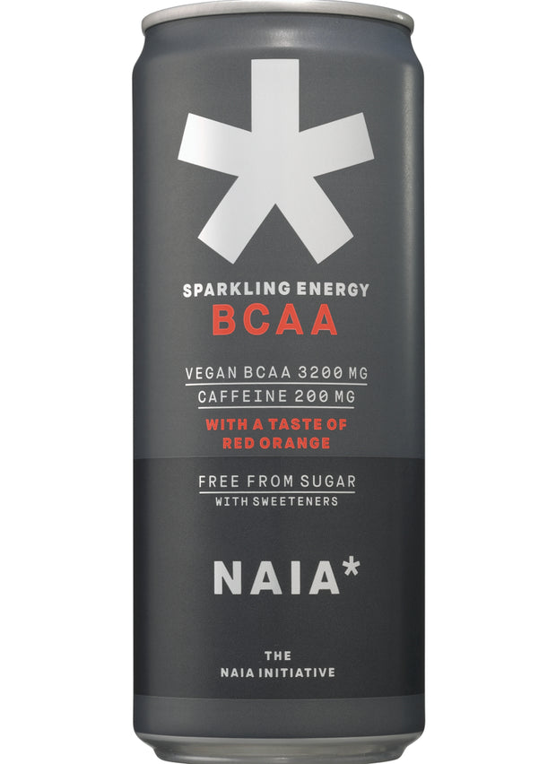 SPARKLING ENERGY BCAA RED ORANGE - 12 pack