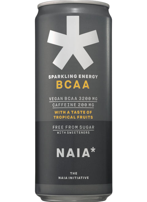 SPARKLING ENERGY BCAA TROPICAL FRUITS - 12 pack