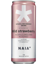 SPARKLING ENERGY DRINK WILD STRAWBERRY - 12 pack