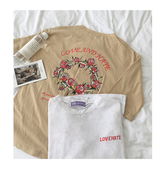 """Love and Hate"" Tee"