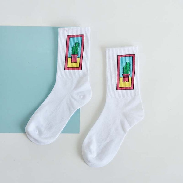Bright Moon Socks