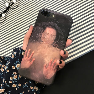 Woman Drowning Painting Phone Case