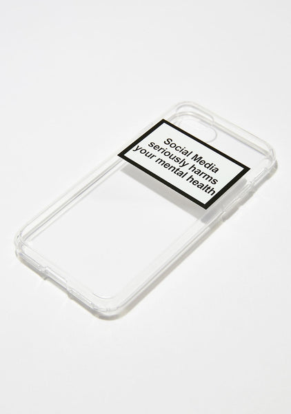 """Mental Health"" Iphone case"