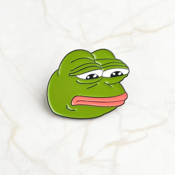 4pcs/set Frog Pepe Pins