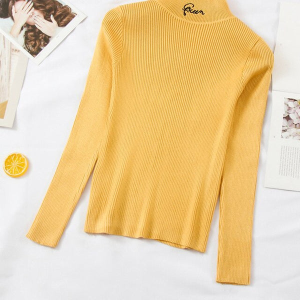 """Queen"" Autumn Turtleneck"