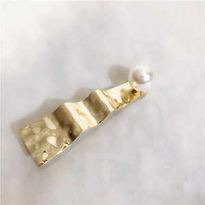 Gold Artistic Hair Clips