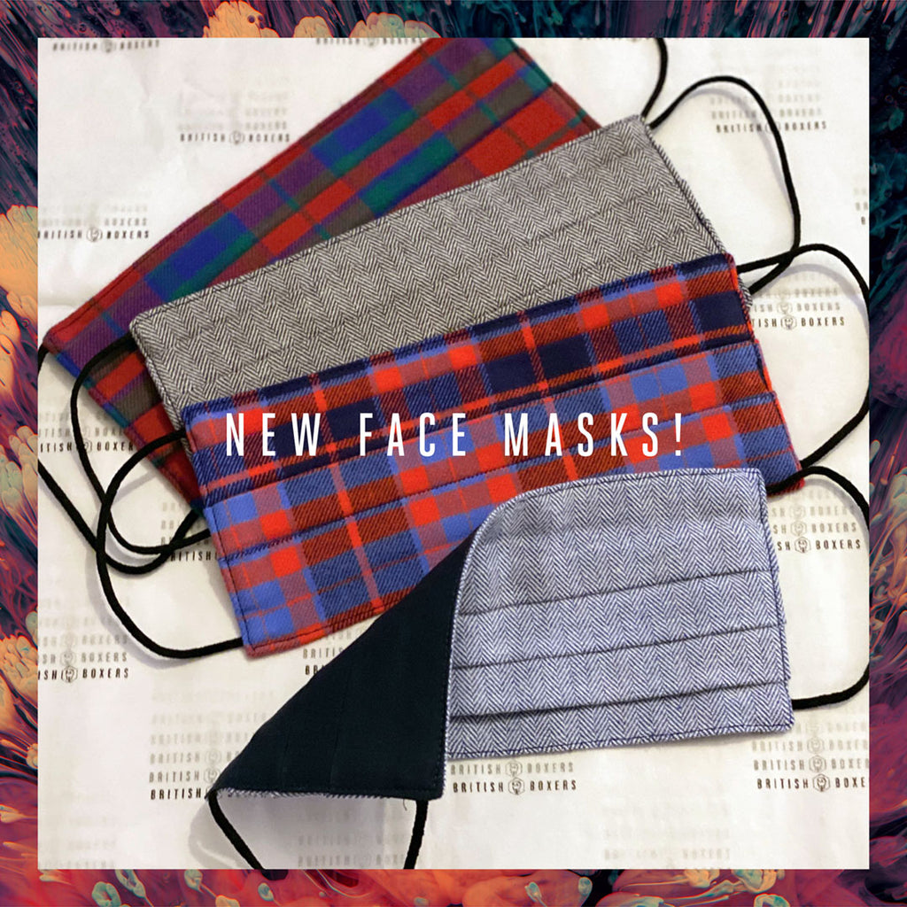 BRAND NEW Face Masks - Brushed Cotton Double Layer!