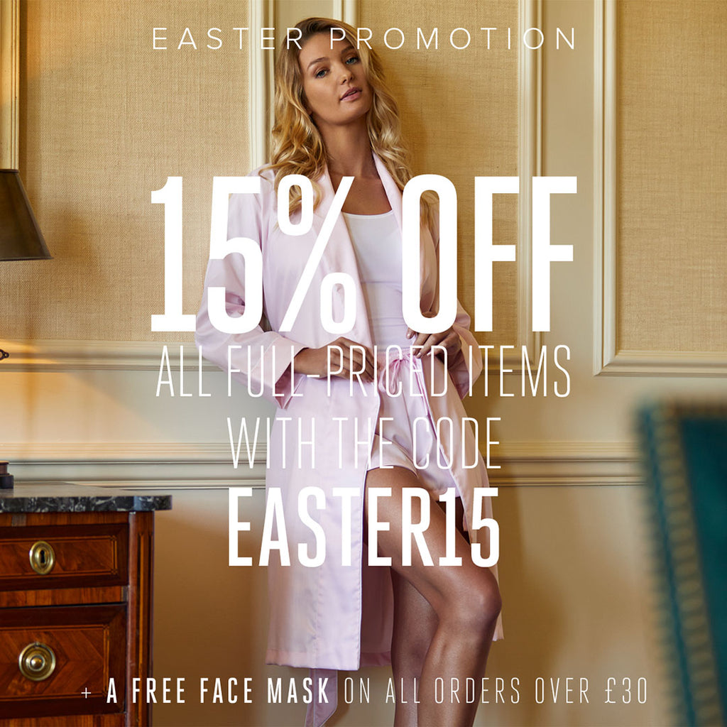 Easter Promotion - 15% OFF all full-priced items
