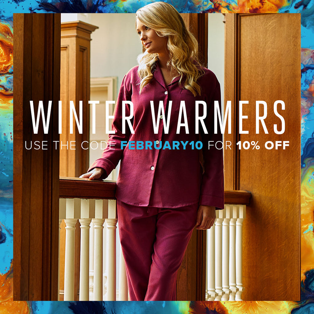 Winter Warmers - 10% OFF with the code FEBRUARY10