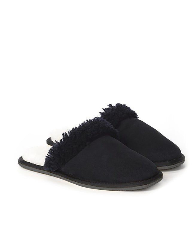 Men's Sheepskin Mule - Navy