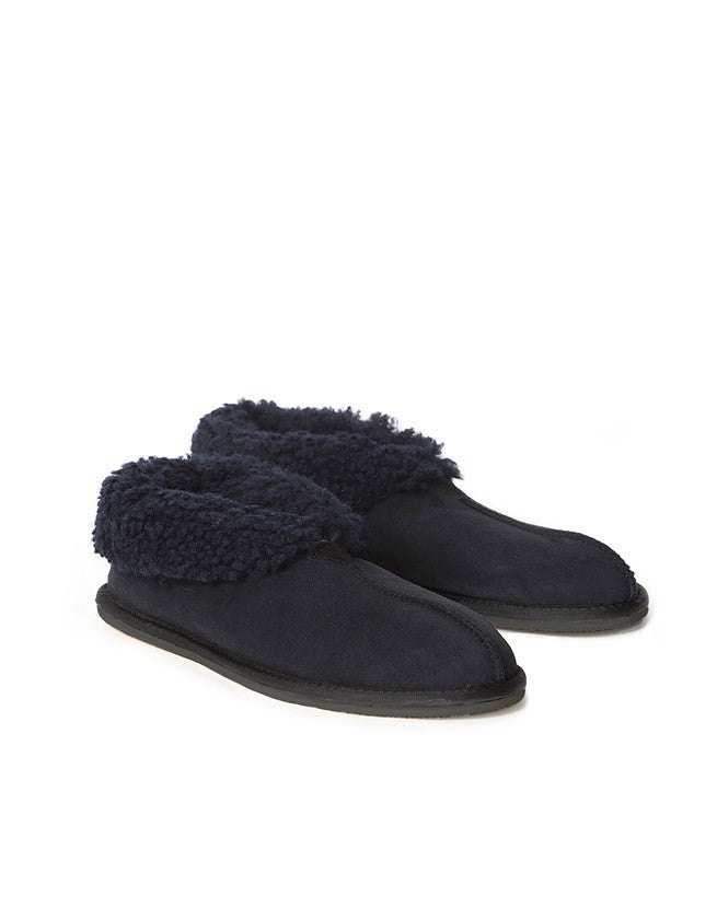 Men's Bootee Slipper - Navy