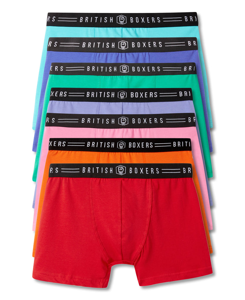 Knockout Pack! 7 Pairs of ALL BRIGHTS Stretch Trunks for £65
