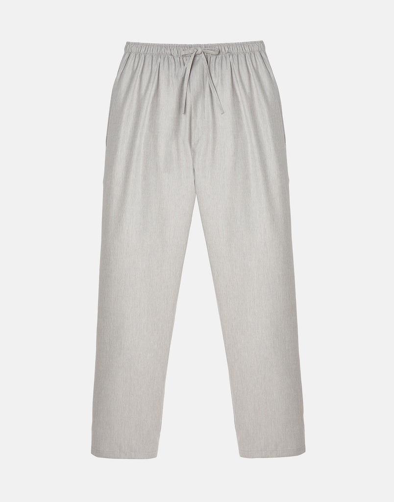 Men's Armoury Grey Herringbone Cotton Pyjama Trousers