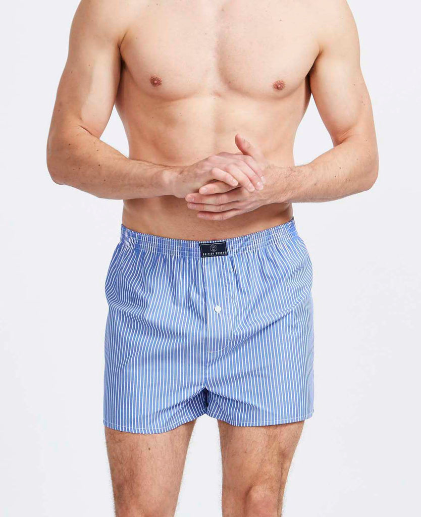 3 Month Subscription! 1 Pair of Stripes & Checks Boxer Shorts for 3 months
