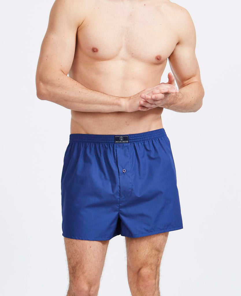 6 Month Subscription! 1 Pair of Boxer Shorts in Blues & Whites for 6 months
