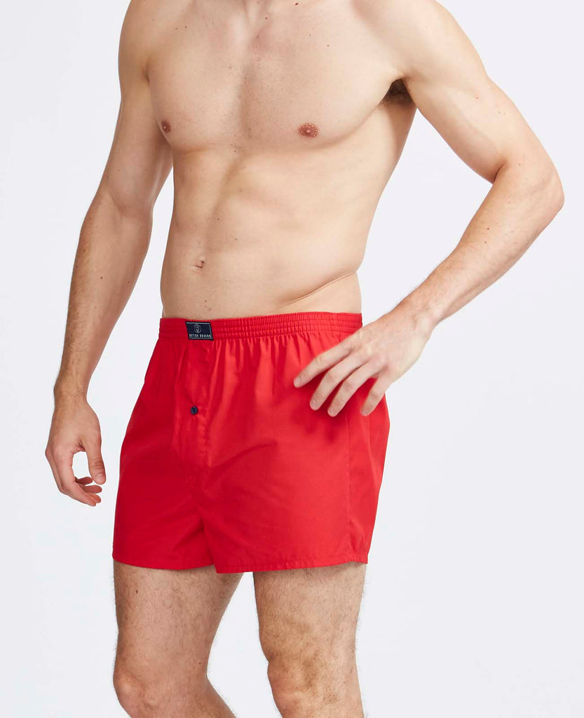 6 Month Subscription! 1 Pair of Boxer Shorts in plain classic colours for 6 months