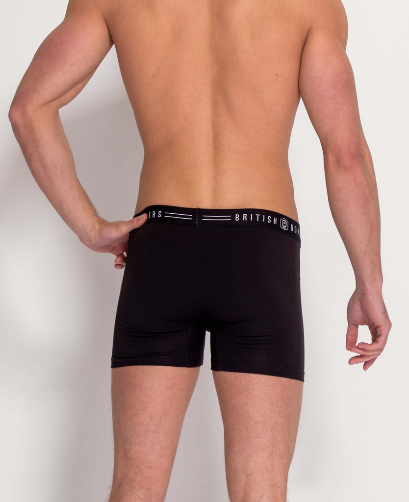 3 Month Subscription! 1 Pair of Black Stretch Trunks for 3 months