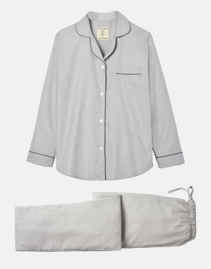 Women's Armoury Grey Pyjama Set