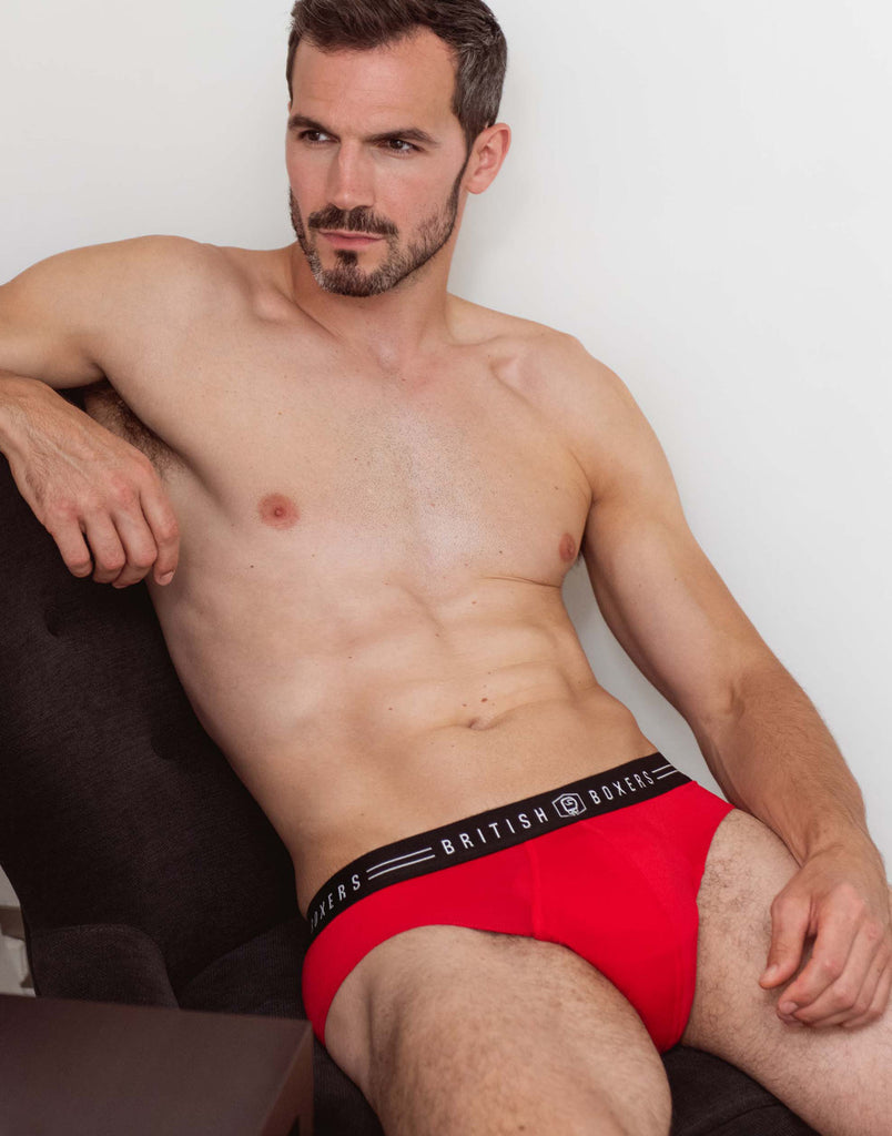 Lucky Dip! 4 Pairs of Men's Briefs for £28