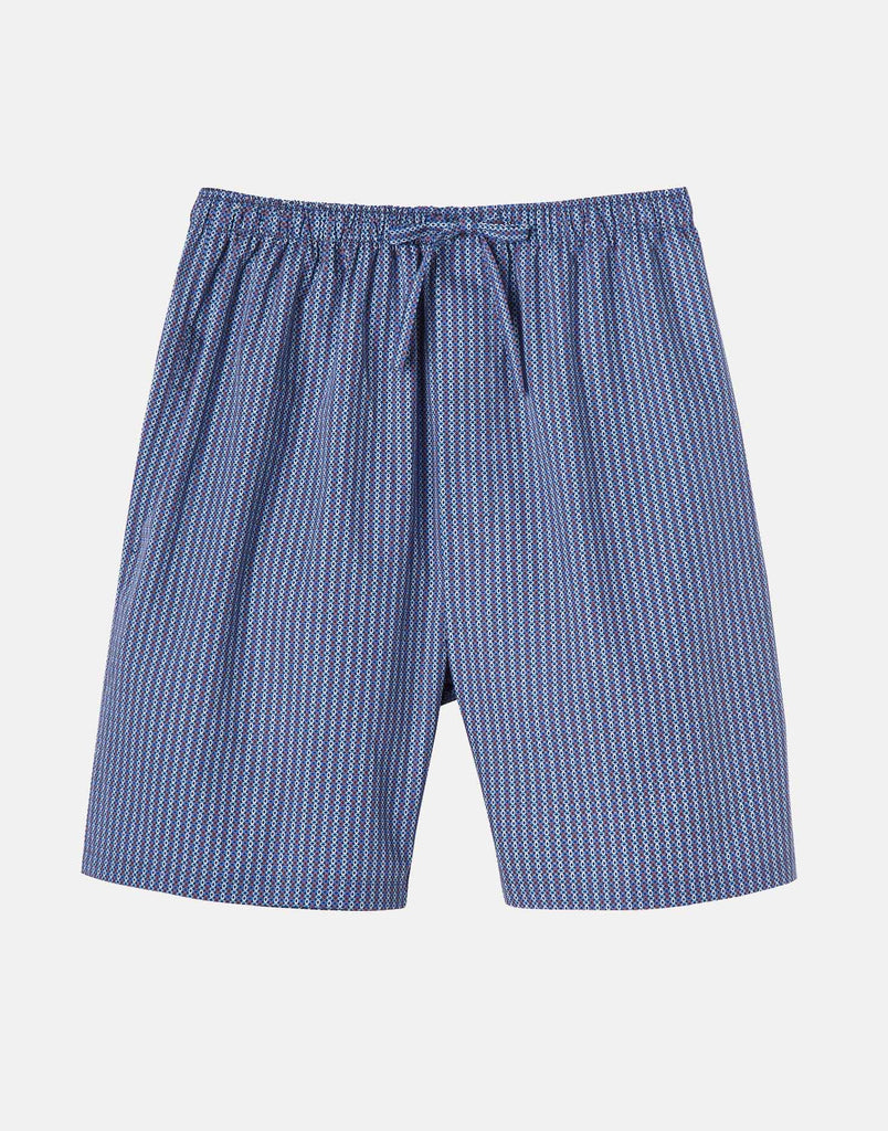 Men's Crisp Cotton Pyjama Shorts – Cannes