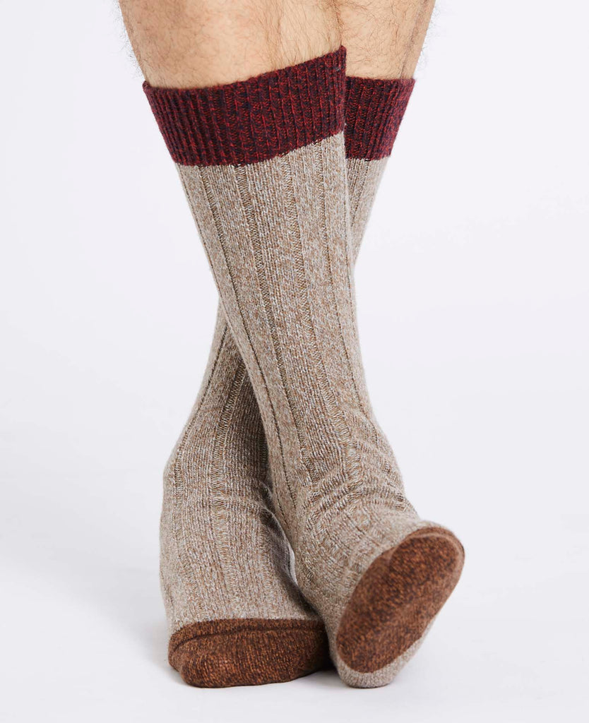 UPPERCUT PACK! 3 PAIRS OF FAIRISLE SOCKS FOR £38