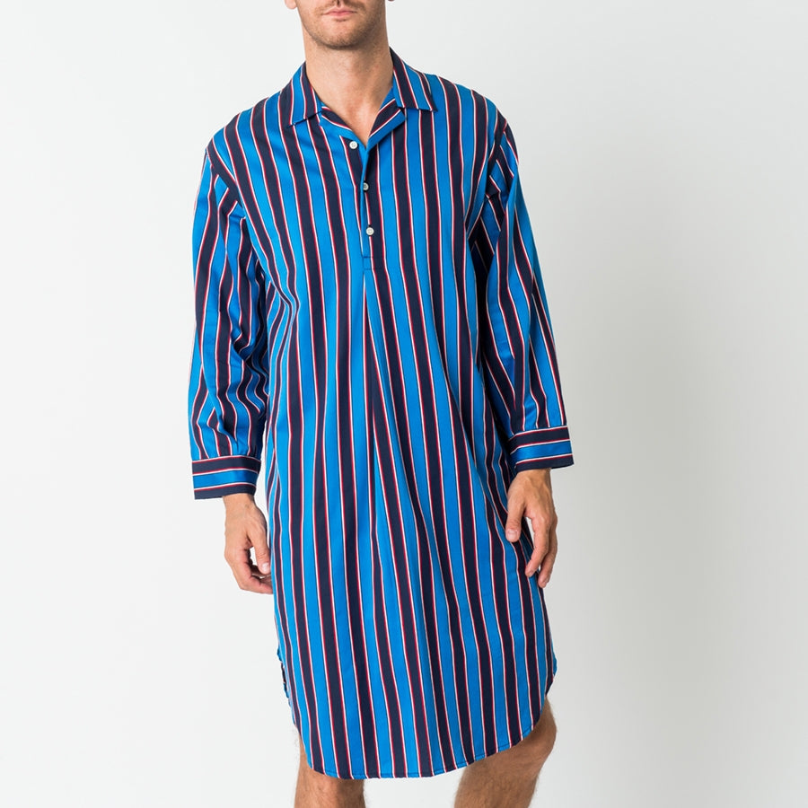 Men's Flash Harry Stripe Nightshirt