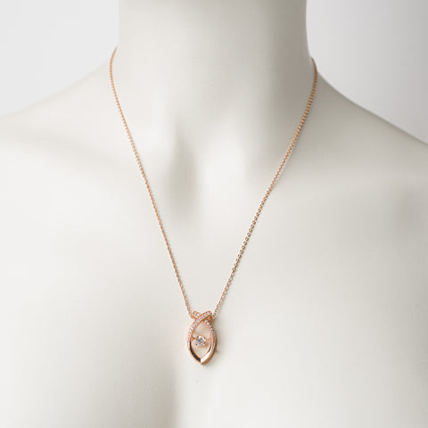 KARMA - DEJOJOŠIE CIRKONI - SMALL FISH DANCING STONES ROSE GOLD