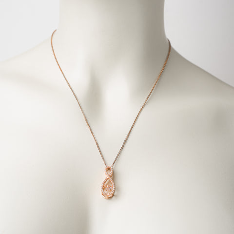 JAUNUMS! KARMA - ETERNITY DANCING STONES ROSE GOLD
