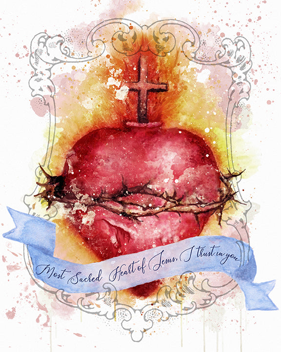Most Sacred Heart of Jesus Printable